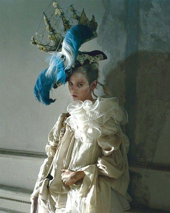 Lady Grey by Tim Walker, Vogue Italia Mar 2010  TEMPTING TEAL | ZsaZsa Bellagio - Like No Other