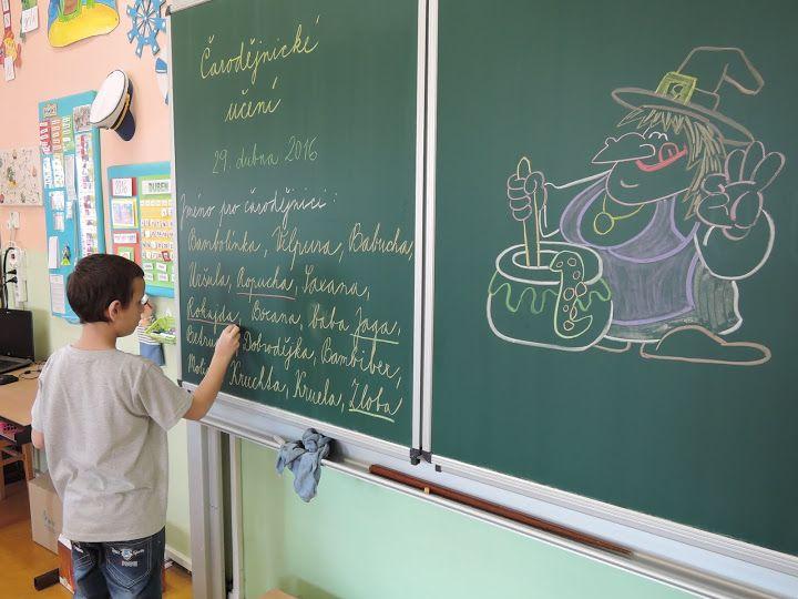 Čarodějnické učení - 2. třída