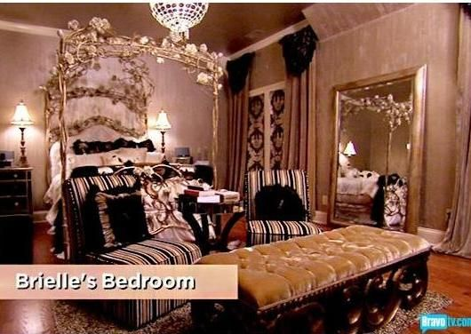 bedroom. Kim Zolciak, Atlanta's Housewives
