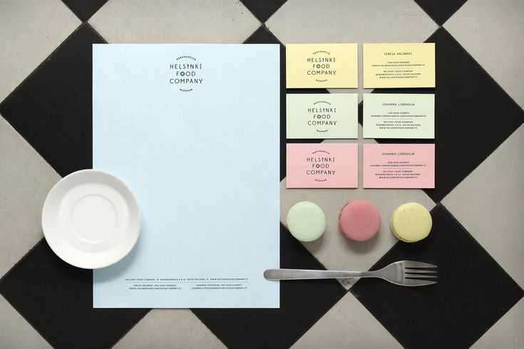 Helsinki Food Company - Stationery