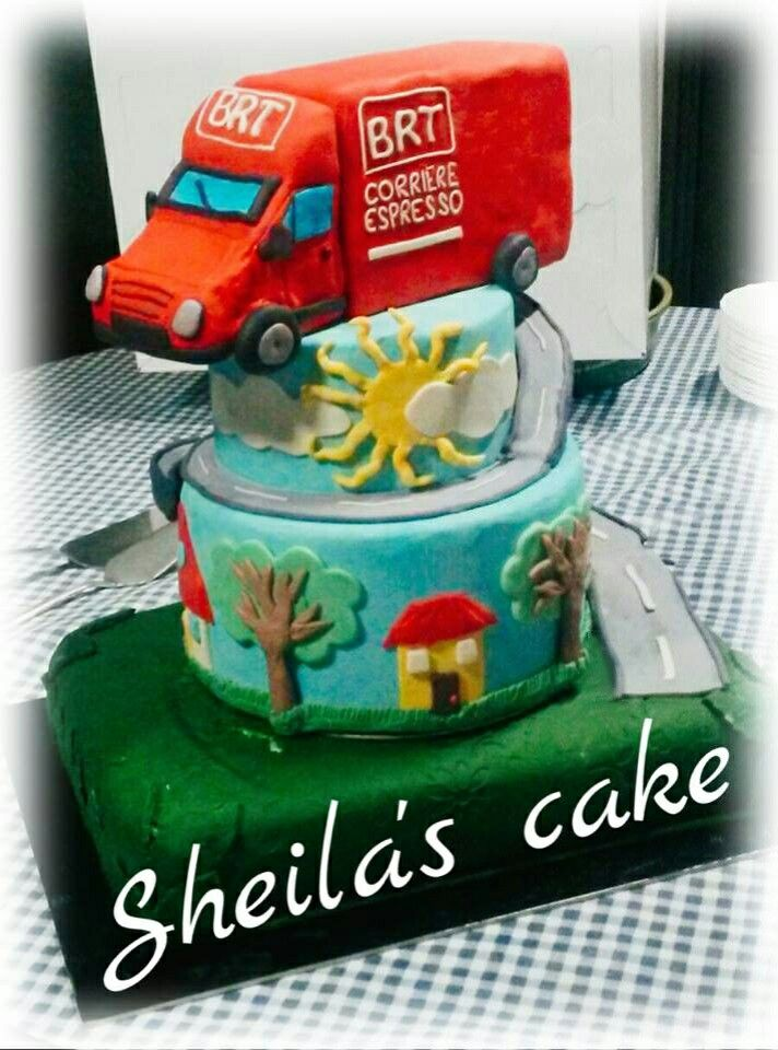 CAMION CAKE #BRT#CAKE