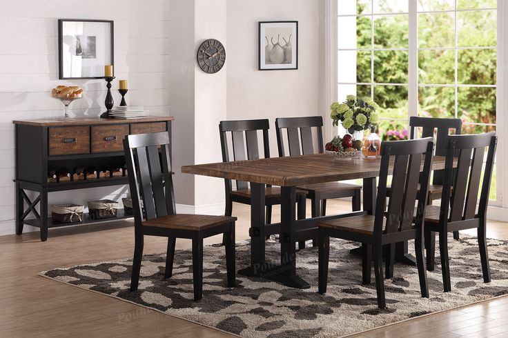 Poundex Dining Table F2323