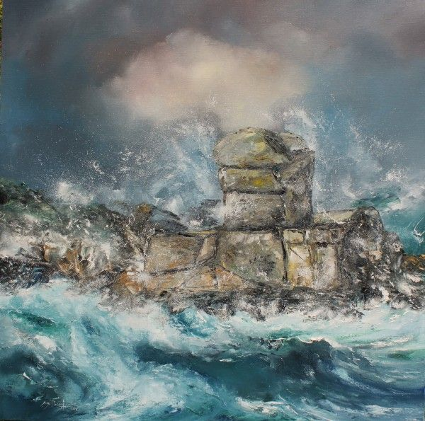 "Serge Doceul ~ ""Le Donjon du Dragon Île de Batz"" - Bretagne"