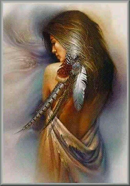 Native American Maiden Art | Pinned by Rhoda Toshimitsu