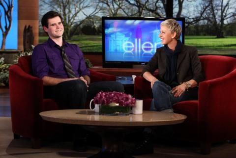 """""""Zach Wahls"""" - The Ellen DeGeneres Show, Outstanding Talk Show Episode"""