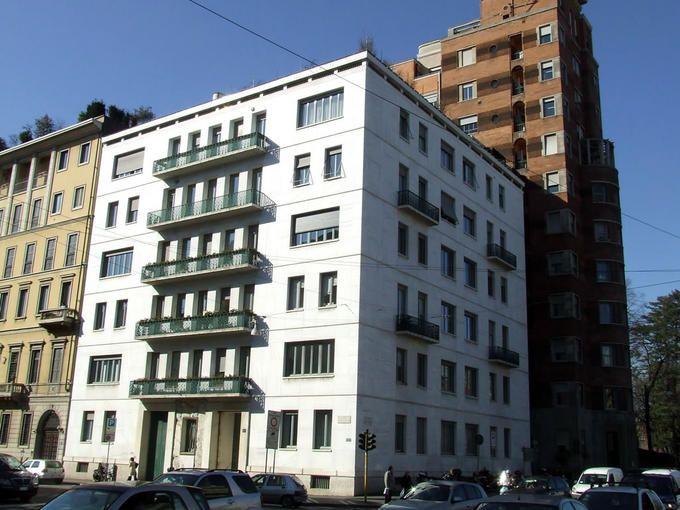 Emilio Lancia and Gio Ponti  Palazzo SIVEM  1933-34  Porta Venezia