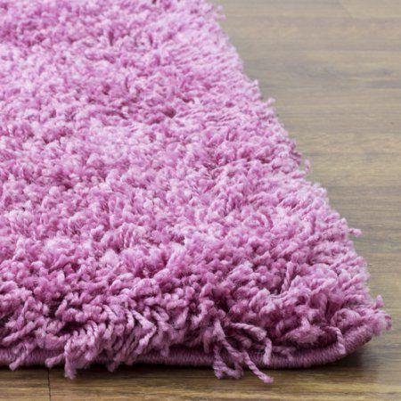 super area rugs cozy plush solid lilac purple shag rug 3u0027 3 inch