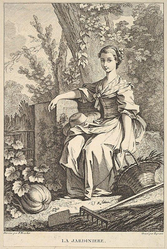 The Gardener After François Boucher (French, Paris 1703–1770 Paris)