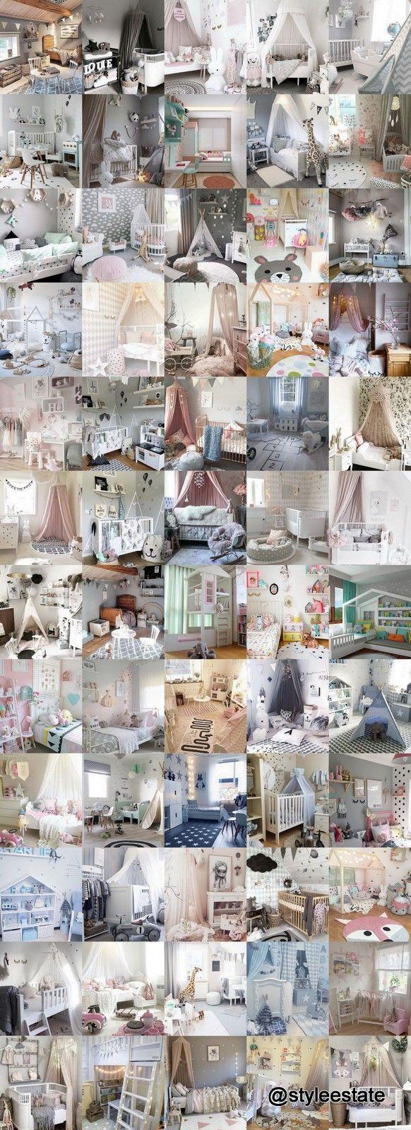 60 Modern-Chic Nursery & Toddler Rooms @finabarnsaker