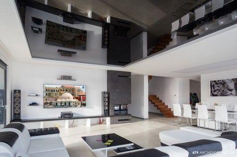 nowoczesny projekt wnetrz, projekt salonu, polysk, led, sufit napinany, architekt slupca, architekt słupca 479 #nowoczesny #projekt #wnetrz  #projekt #salonu  #polysk  #led  #sufit #napinany #architekt #slupca #architekt #słupca #479