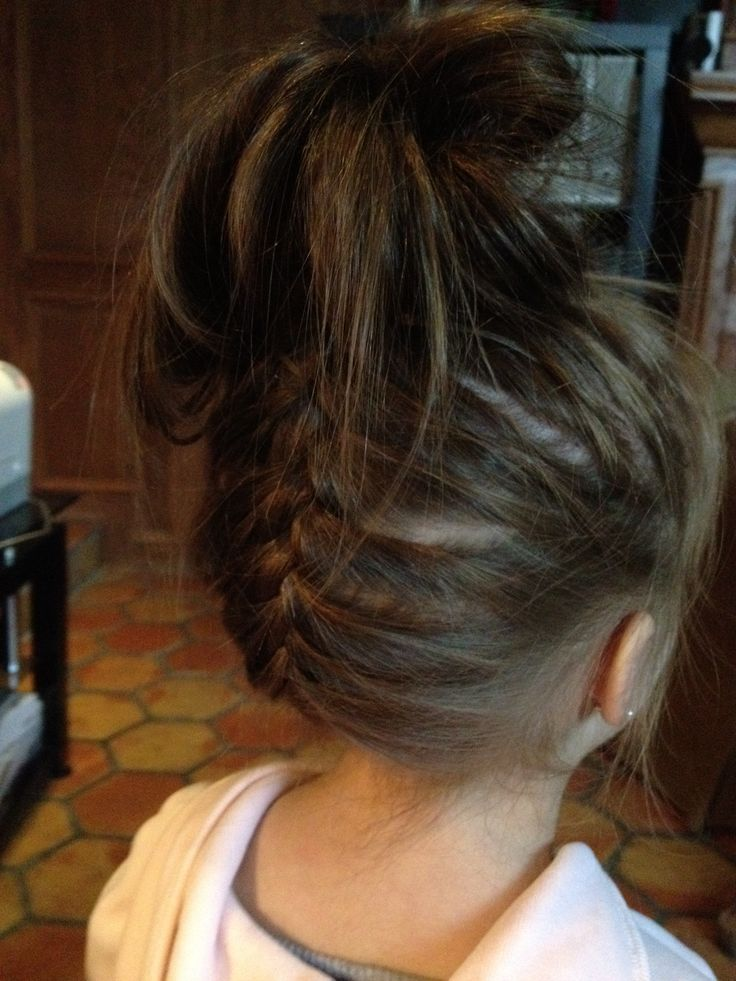 Cute Hair Do Of My Little Girl Lovely Khloe Hair