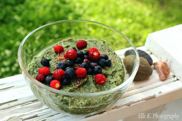 Healthy greens and fruit are so yummy in a nutritious, plantbased smoothie! Vegan and vegetarian options in the recipe.