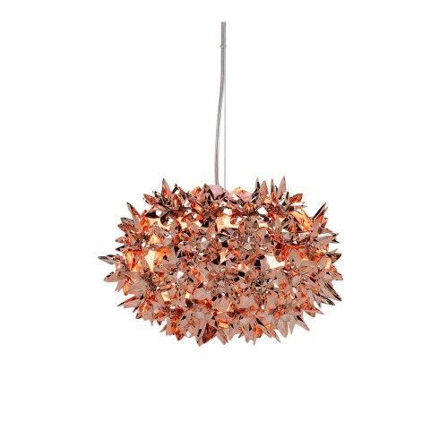 Kartell Bloom Metallic Pendant Light S2  sc 1 st  Pinterest & 19 best Lighting images on Pinterest | Architects Chandeliers and ... azcodes.com