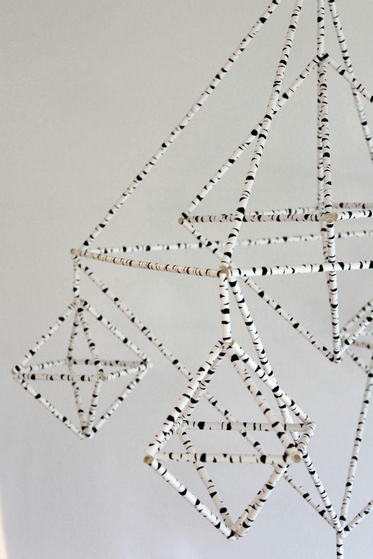 Himmeli paperipilleistä (Löytö-blogista)