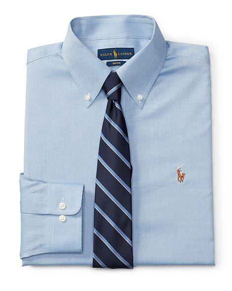 Slim Non-Iron Oxford Shirt - Polo Ralph Lauren Sale - RalphLauren.com