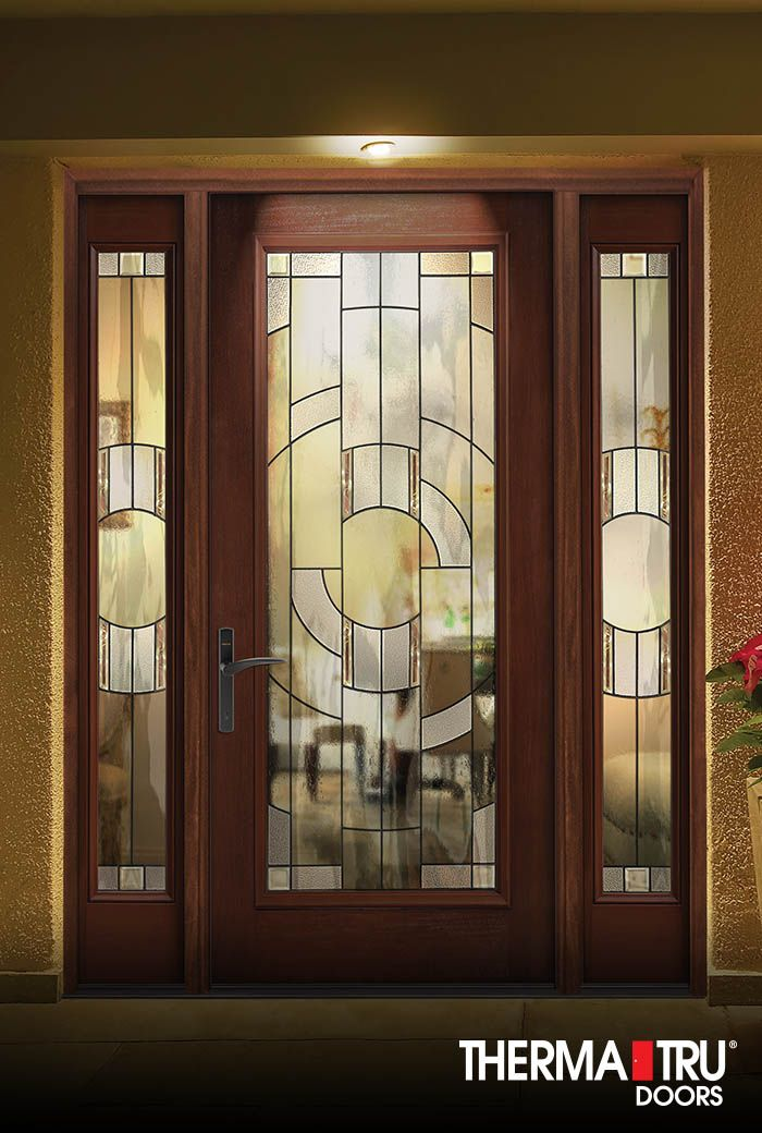 1000 images about classic craft mahogany collection on for Therma tru entry doors