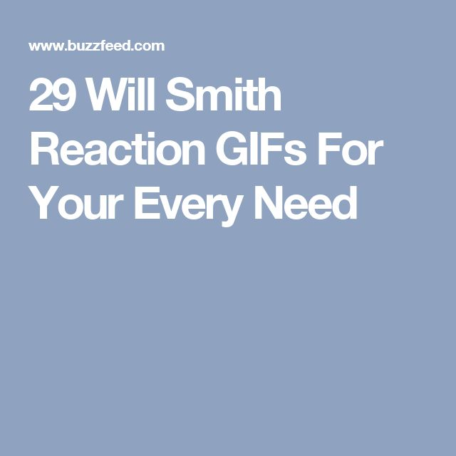 29 Will Smith Reaction GIFs For Your Every Need
