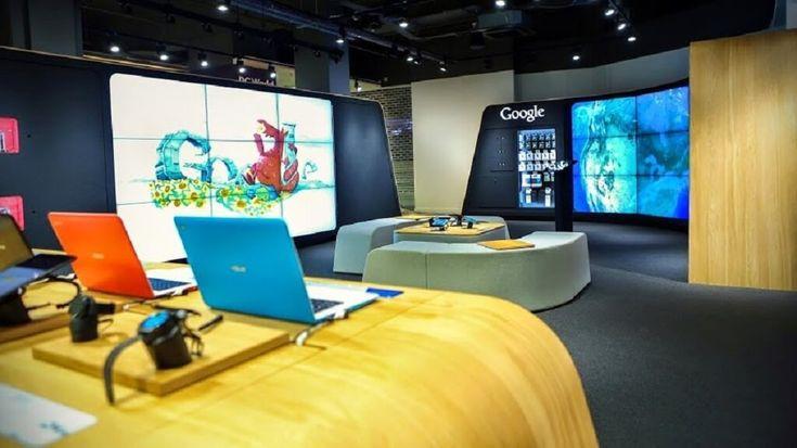 Google breaks offline with a UK pop-up shop