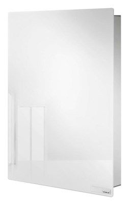 Magnetyczna skrzynka na klucze, szkło białe by Blomus