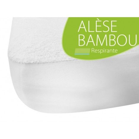 Alèse en Bambou - Pour Lit Bébé 60x120 cm - Sebio