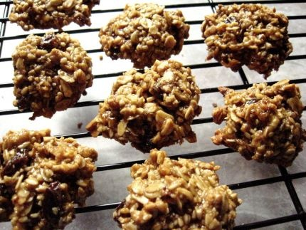 Agave And Honey Oatmeal M&M Cookies Recipes — Dishmaps