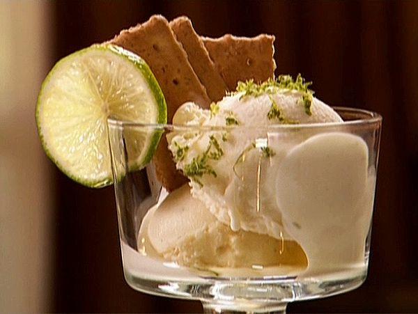 The Neelys' Key Lime Pie Ice Cream