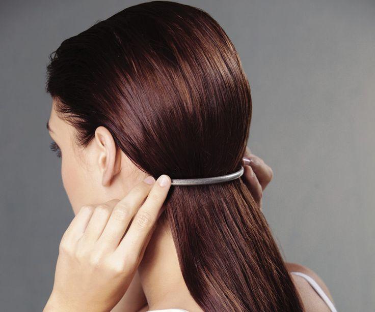 5 haarstyle vir 'n moderne voorkoms - rooi rose