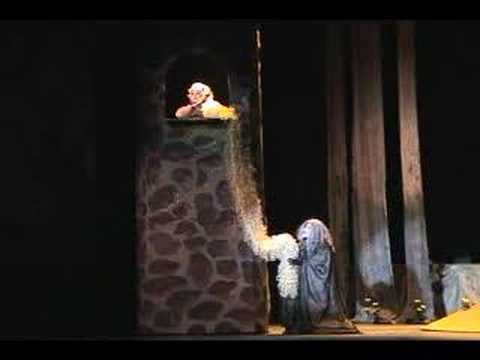 """""""Into the Woods"""" Revival with Vanessa Williams as The Witch and Melissa Dye as Rapunzel Our Little World - Revival - via Masked Lion's YouTube channel"""