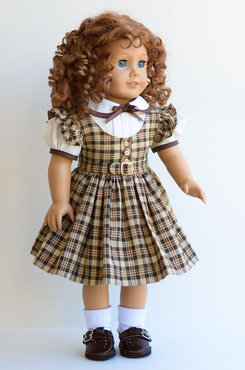 1030-40s School Jumper and Blouse-American Girl. $28.50, via Etsy.