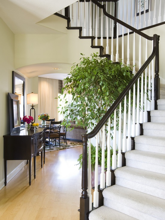 Staircase And Hallway Entry With Cozy Nook   Traditional   Staircase   San  Diego   By Robeson Design   Sublime Decor