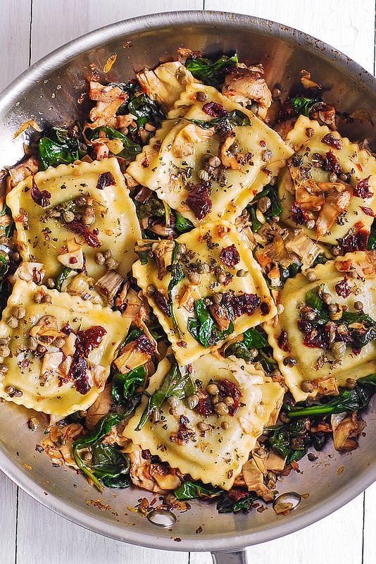Italienisches Ravioli-Rezept, beste italienische Ravioli, Ravioli mit Gemüse   – miam!!