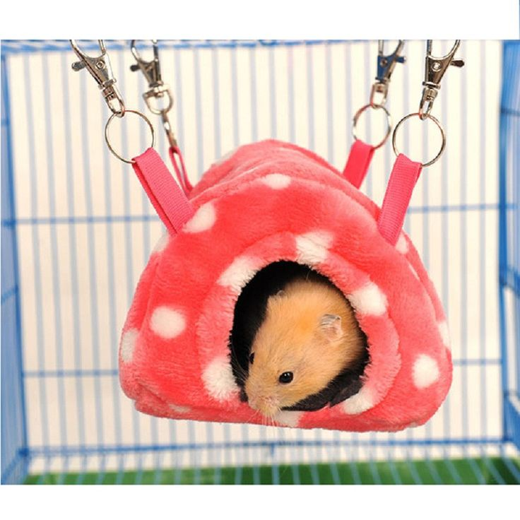 Hamster Warm House Hanging Bed