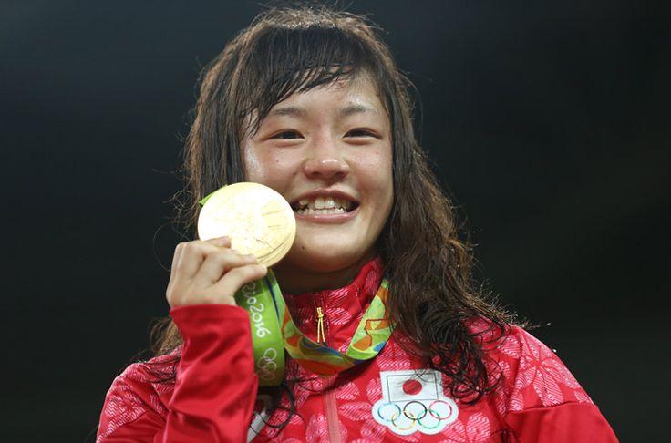 土壇場の大逆転、登坂絵莉がレスリング女子48kg級で金 - gorin.jp #レスリング #リオ五輪