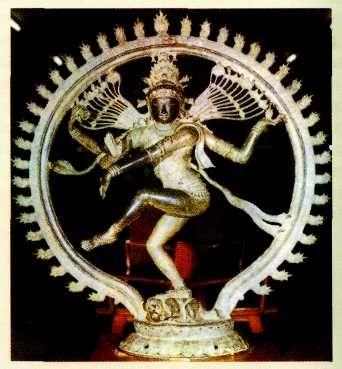 Шива Натараджа из Южной Индии. XI в. Городской музей, Мадрас. Индия.