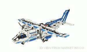 Lego Technic Cargo Plane 42025