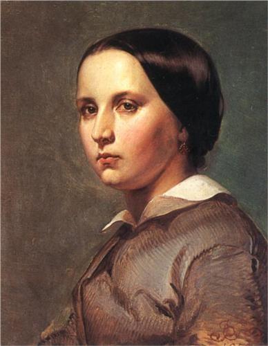 Portrait ofsister - Jan Matejko