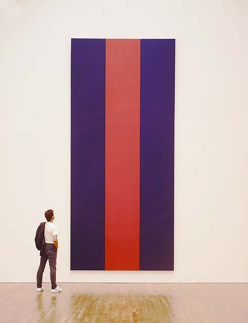 Voice of Fire by Barnett Newman | lucidpractice.com | #minimalism