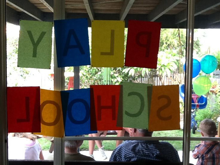 PlaySchool letters
