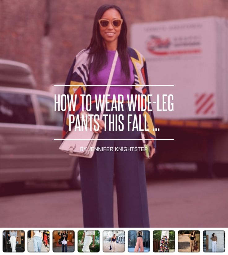 How to Wear #Wide-Leg Pants This Fall ... - #Fashion