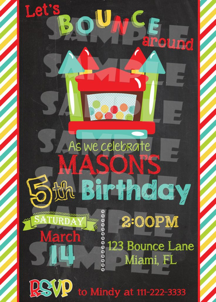 25 best Party Invitations images on Pinterest | Birthday party ideas ...