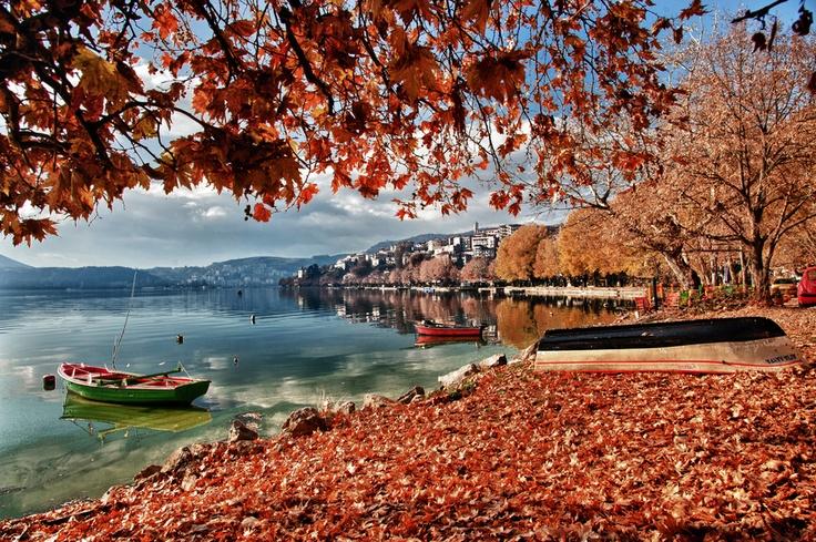 Kastoria, Macedonia, Greece.