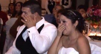 La surprise de ce père au mariage de sa fille fait pleurer tous les invités