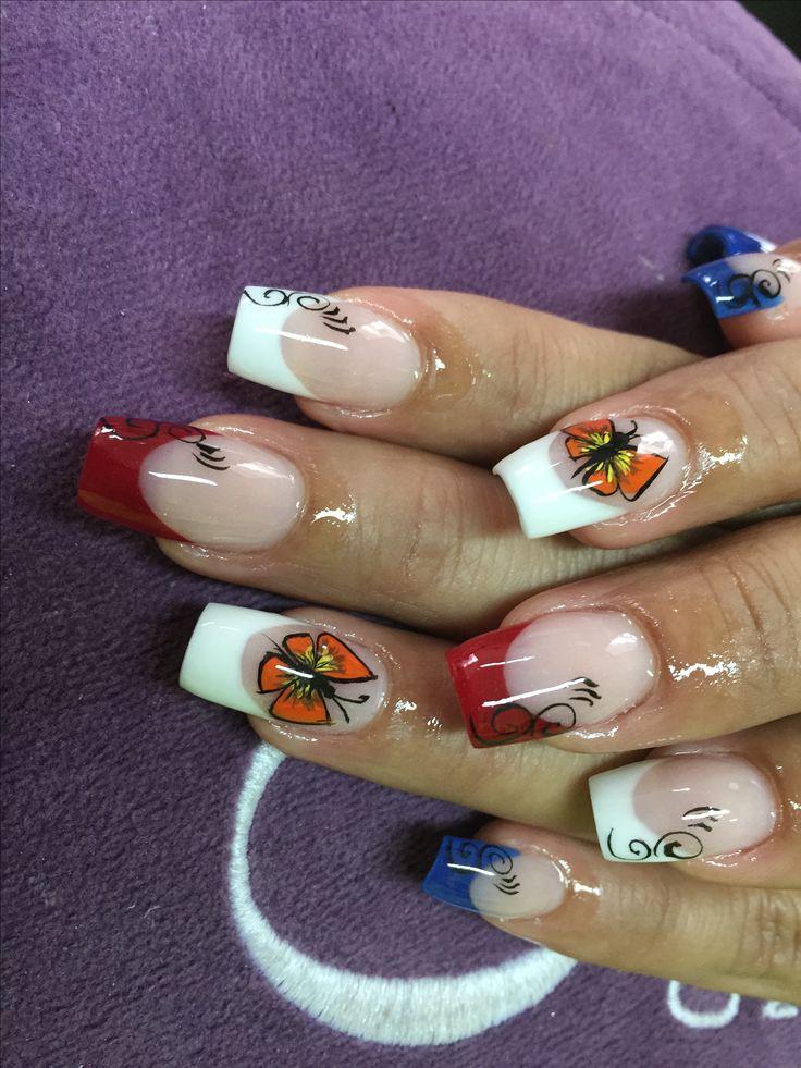 16 best Uñas encapsuladas images on Pinterest | Encapsulated nails
