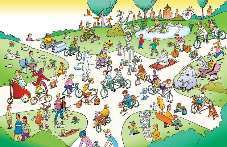 (2014-09) Hvad er forkert i parken?