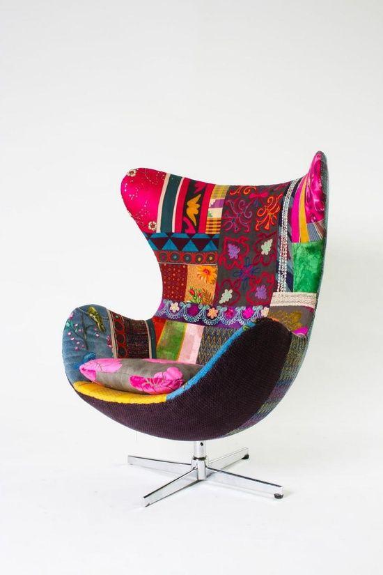 Colourful Bohemian Furniture by Bokja