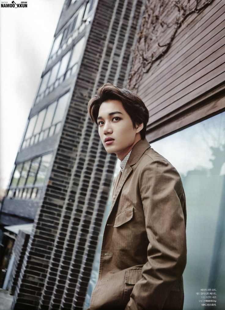 KAI || The Celebrity Magazine January 2015 definitely buying this magazine haha
