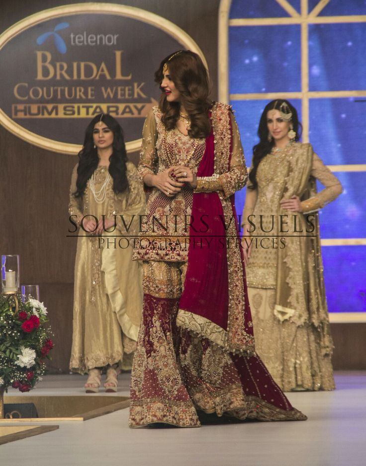 Souvénirs Visuél (@souvenirsvisuel) our official event photographers for Telenor Bridal Couture Week Day 1 #TBCW2015 #pakistaniweddings #bridal #couture