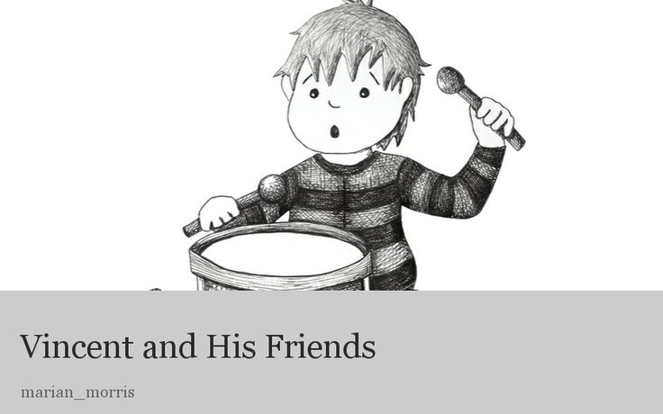 Vincent's friends are all very different. Meet each one and find out what they have in common. A great book to read to your child as a discussion starter.