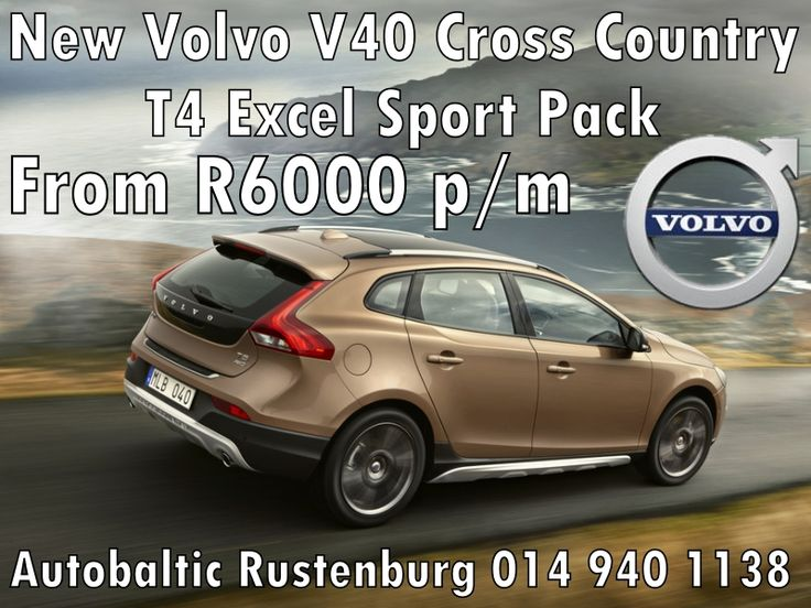 Volvo V40 Cross Country Special , Volvo Rustenburg