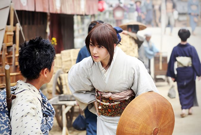 Rurouni Kenshin - The Great Kyoto Fire Arc - Kaoru Kamiya and Yahiko Myojin